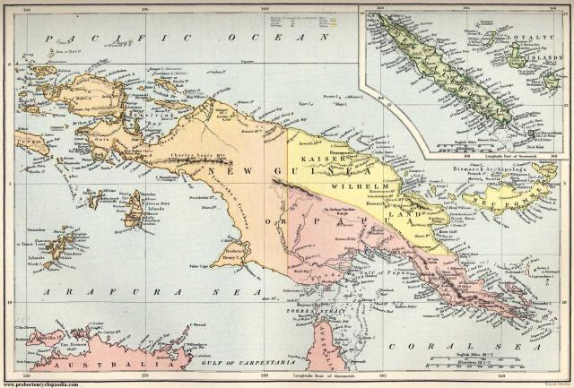 New Guinea, pre-independence