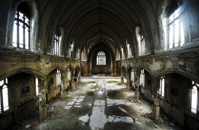 Detroit Church Ruins