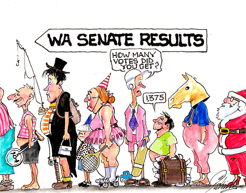 WA Senate Election, 2013
