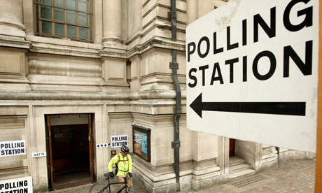 Polling Station, 2010 UK General Election