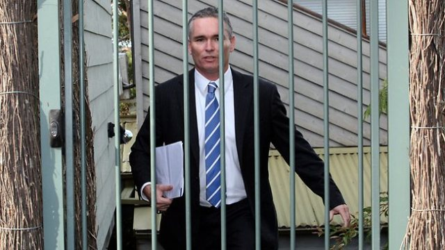 Thomson behind bars