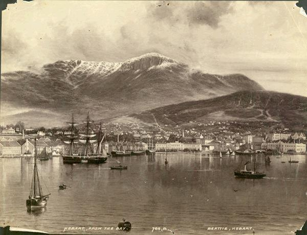 Mt Wellington, 1900