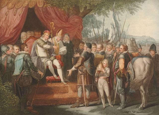 Signing of the Magna Carta, 1215